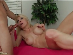 Fit momma jodie stacks sucks and rides a dick tubes