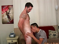 Gay porn audition video with a great blowjob tubes
