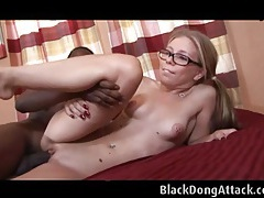 Tabitha gets a nice bbc on the couch tubes