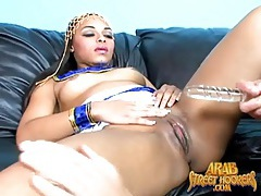 Curvy arab slut moans for dildo sex tubes