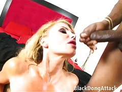 Blond milf getting fucked hard by a bbc tubes