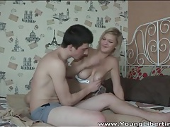 Big breasts blonde teen fucked doggystyle tubes