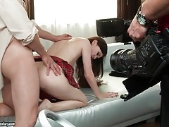 Behind the scenes of anal photo shoot tubes