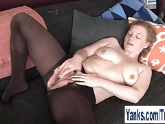 Busty amateur lili fingering her pussy tubes