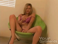 Blonde samantha sin gives jerk off instructions tubes
