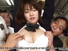 Japanese schoolgirl yayoi yoshino fucked in bus uncesnored tubes