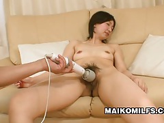 Junko konno - japanese momma experiencing dual sex pleasure tubes
