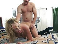 Slutty milf samantha gets stuffed with a stiff cock tubes