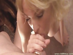 Beautiful wet sloppy milf bj tubes