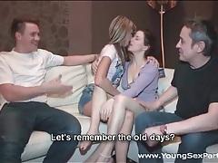 Teens kiss for their boyfriends before fucking tubes
