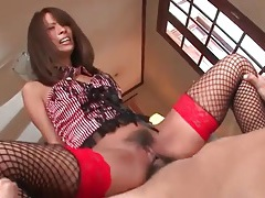 Oiled up titjob from beautiful japanese girl tubes