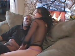 Wet blowjob for a black cock from a slut tubes