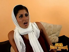 Sexy pierced arab girl in a striptease video tubes