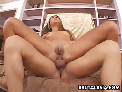 Charming asian babe wants it in the ass tubes