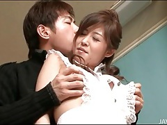 Cock and ball sucking with two japanese girls tubes