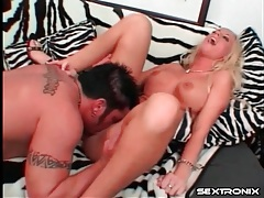 Big butt girl with fake tits gets laid tubes