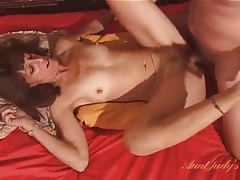 Old guy eats out and fucks his mature wife tubes