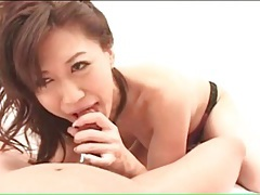 Pretty panties on a cocksucking japanese girl tubes