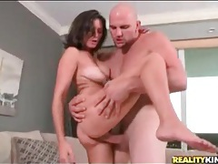 Big tits beauty bent over and fucked by big cock tubes