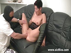 Horny amateur milf fist fucked by the builder tubes