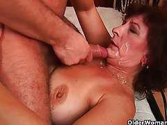 Mommy loves the taste and scent of your warm cum tubes