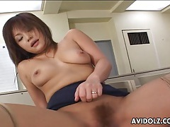 Impeccable japanese tart enjoys having hardcore sex tubes