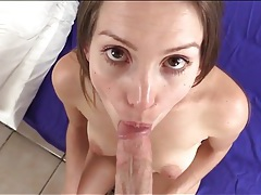 Cute lelu love sucks hard dick in pov blowjob tubes