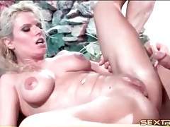 Fucking pussy and ass of big titty slut tubes