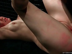 Girl in a cage fucked hardcore in the dungeon tubes