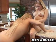 Brooke scott and aiden star - blonde on blonde lesbian sex tubes