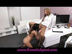 Femaleagent get nice and wet for me tubes