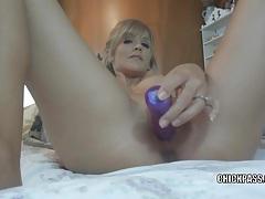 Blonde slut jolene is giving an extra sloppy blowjob tubes
