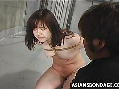 Asian babe likes it rough tubes