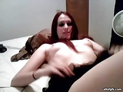 Small tits webcam girl shows her bald pussy tubes
