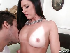 Wet blowjob for a big cock from india summer tubes
