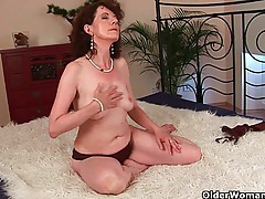 Sex starved granny fucks her toy boy tubes