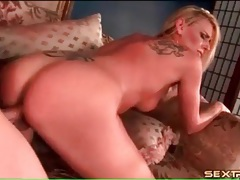 Milf blonde with a sexy ass fucked doggystyle tubes