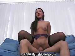 Bald asian vagina rides a dick with passion tubes