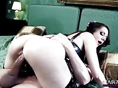 Hot anal whore in gorgeous lingerie tubes