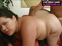 Big cock pounds the hot pussy of the fat girl tubes