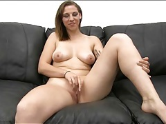Curvy amateur strips naked and gets fucked tubes