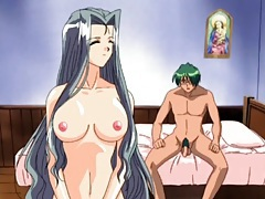 Big breasts hentai beauty gives head and fucks tubes