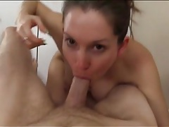 Incredible pov cocksucking from lelu love tubes