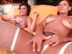 Latinas in lingerie eaten out by black guys tubes