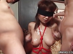 Car sex and a cumshot with japanese girl tubes