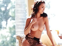 Pornstar dillion harper in sexy lace teddy tubes