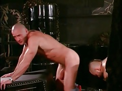 Close up gay porn threesome with rough play tubes