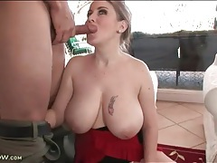 Incredible curves and huge tits on cocksucking milf tubes