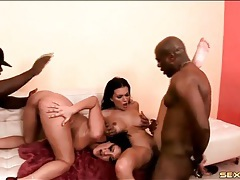 Two dirty mom whores fucked by black cocks tubes