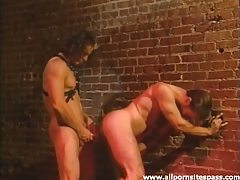 Manly men fuck anally in the alley tubes